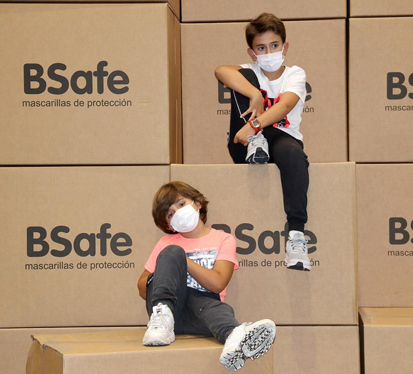 mascarilla BSafe infantil fabricacion nacional homologada