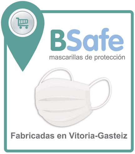 DISTINTIVO PUNTO DE VENTA BSAFE MASCARILLAS