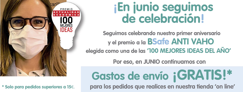 EN JUNIO CONTINUAMOS CON GASTOS DE ENVÍO GRATIS EN NUESTRA TIENDA ONLINE PARA PEDIDOS SUPERIORES A 15€