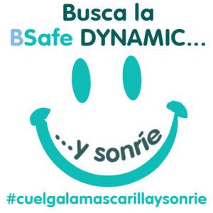 BSafe Dynamic, cuelga la mascarilla y sonrie